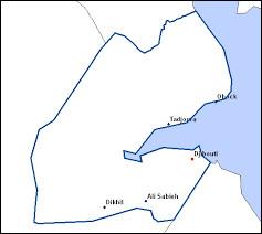 Laquelle de ces mers borde les côtes de la République de Djibouti ?