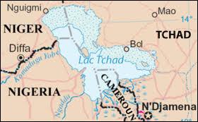 Lequel de ces cours d'eau se jette dans le lac Tchad ?
