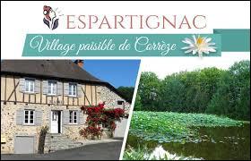 Village de Corrèze, Espartignac se situe dans l'ancienne région ...