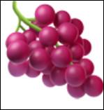 C'est un(e) ... de raisin.