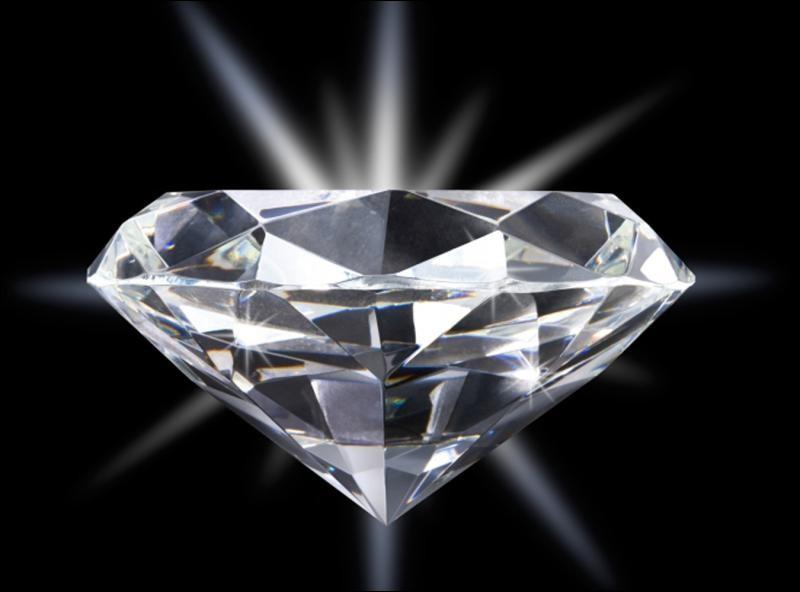 Les diamants peuvent être de toutes les couleurs.