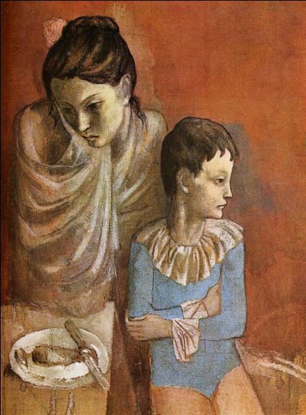 """Qui est l'auteur du tableau """"Mère et enfant"""" ?"""