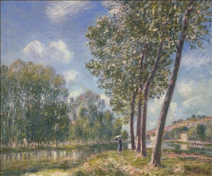 """""""Soleil de printemps, Le Loing"""" est l'œuvre de quel peintre ?"""