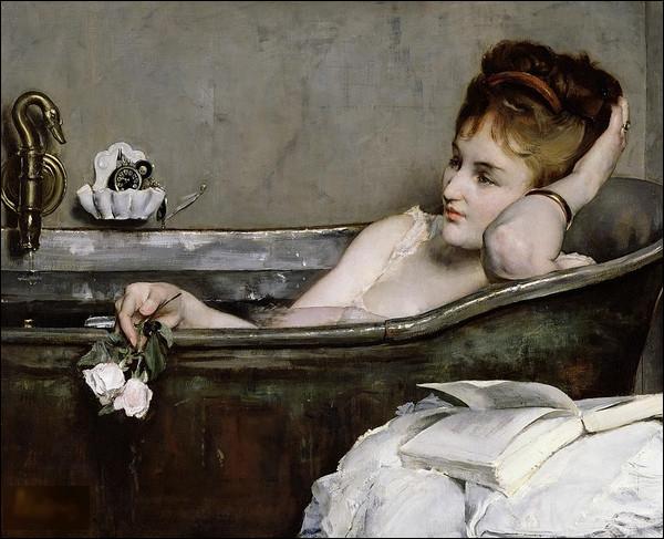 """Quel peintre est l'auteur du tableau """"Dans le bain"""" ?"""