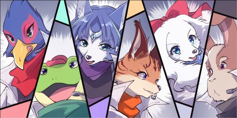 Deux membres de la Star Fox font partie d'une famille prestigieuse Krystal et...