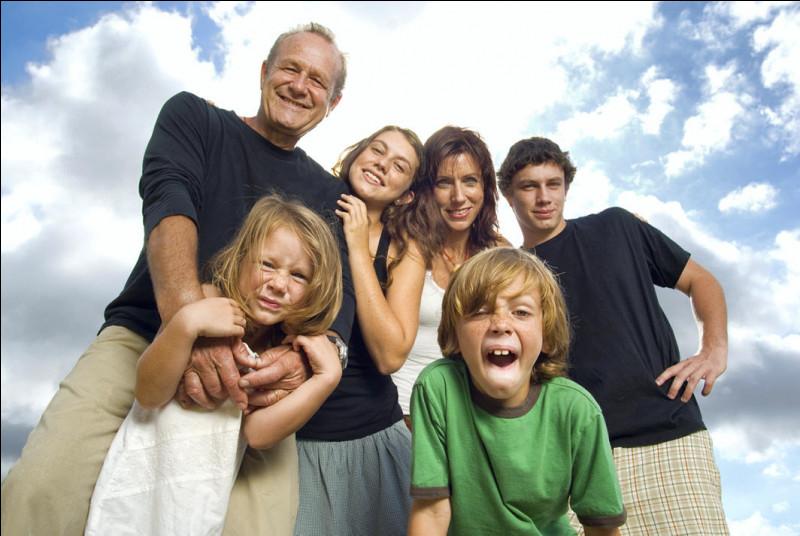 """""""J'ai la meilleure famille"""" se dit en anglais :"""