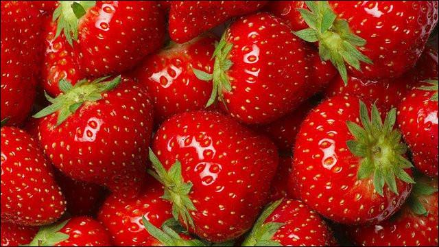 La fraise est une baie.