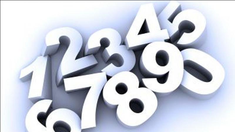 Quel chiffre aimes-tu ?