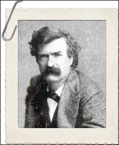 Mark Twain est le pseudonyme d'écrivain de Samuel Langhorne Clemens. Pourquoi a-t-il choisi ce pseudo ?