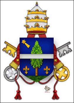 Quelle était la particularité du pape Jean XIII en 855 ?