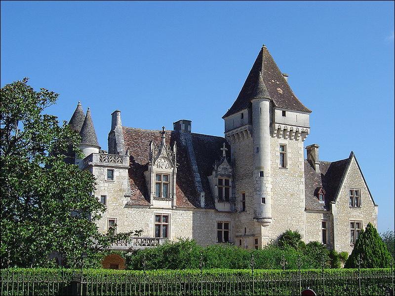 Quel château en Dordogne fut la propriété de l'une des premières stars noires, Joséphine Baker ?