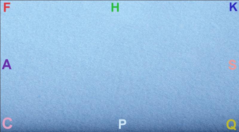 """Arrivant de """"K"""", en """"H"""", je fais un demi-cercle puis une diagonale vers """"K"""" pour changer de main. Quelle figure ai-je effectuée ?"""