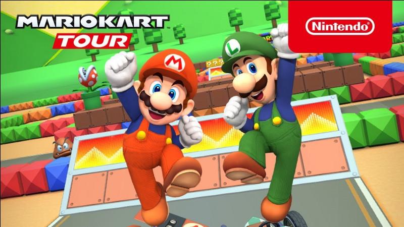 Observe bien la couleur de la salopette de Mario. Cette couleur de salopette vient de quel jeu ?