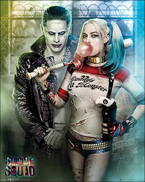 Harley n'aime pas faire le mal mais, elle le fait pour plaire au joker.