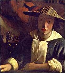 """Qui a peint """"Fille avec une flûte"""" ?"""