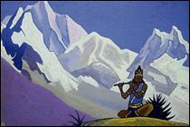 "Qui a peint ""Krishna. Flûte enchantée"" ?"