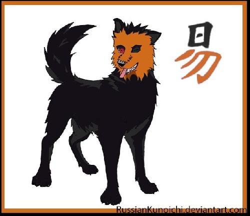 Qui est ce chien à la face orange ?