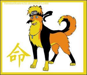 Qui est ce personnage transformé en chien ?