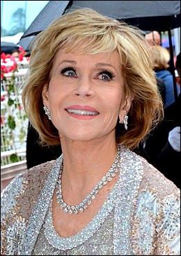 Jane Fonda est une actrice américaine.