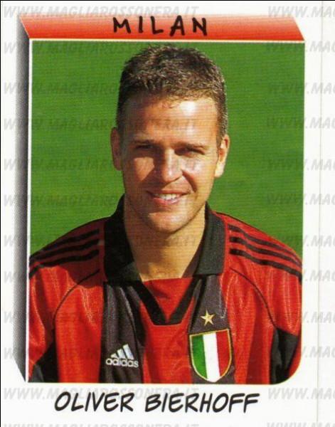 Pour quel club français l'attaquant allemand Oliver Bierhoff a-t-il évolué lors de la saison 2001-2002 ?