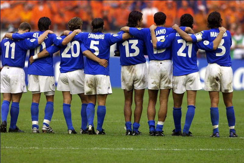 Quel joueur transalpin a ouvert le score en finale de l'Euro 2000 ?