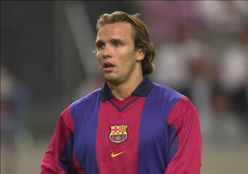 Quel Néerlandais a évolué au FC Barcelone ?