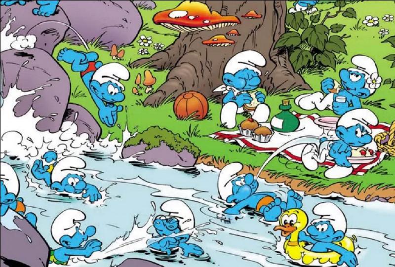 Qui est l'auteur de ces petits êtres bleus ?