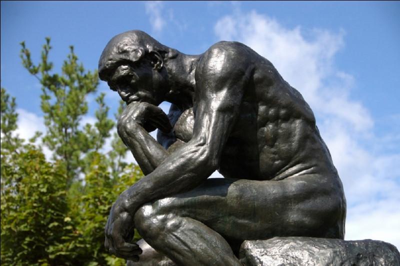 Quel philosophe est l'auteur de cette citation ''Je pense donc je suis'' ?