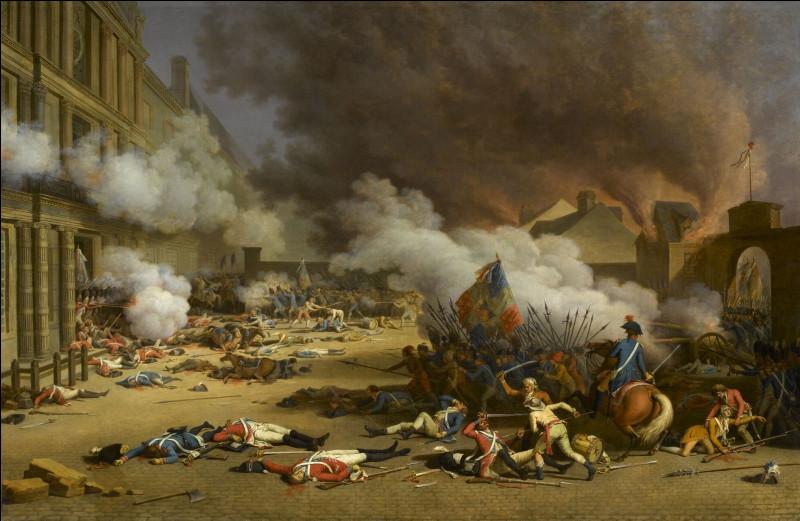 Que s'est-il passé lors de la journée du 10 août 1792 ?