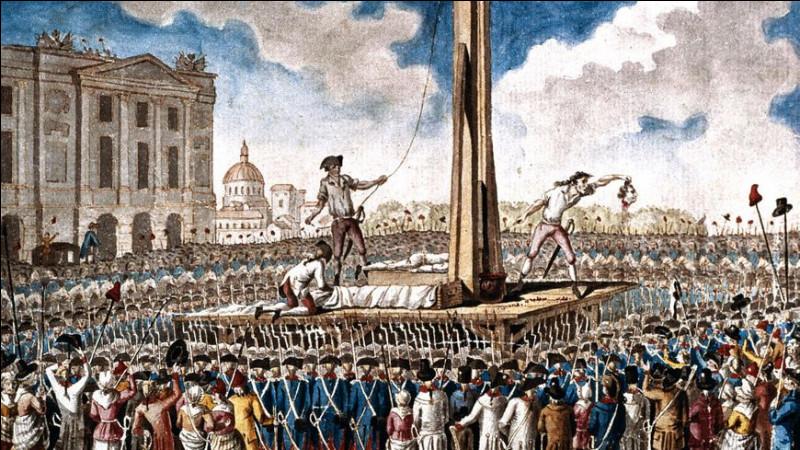 Quand le Roi de France Louis XVI est-il guillotiné?