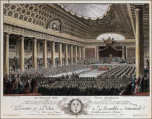 Que se passe-t-il le 5 mai 1789 ?