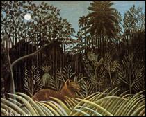 """Qui a peint """"Jungle avec lion"""" ?"""