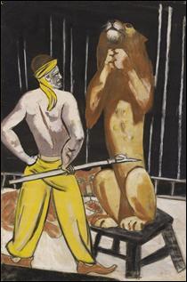 """Qui a peint """"Lion Tamer, Cirque"""" ?"""