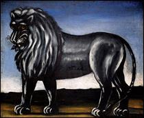 """Qui a peint """"Lion noir"""" ?"""