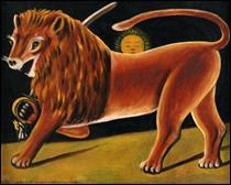 Le lion en peinture - (2)