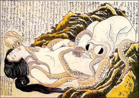 """Qui a réalisé l'estampe japonaise """"Le Rêve de la femme du pêcheur"""" ?"""
