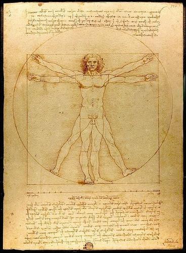 Complétez le titre de ce dessin de Léonard de Vinci, L'Homme de :