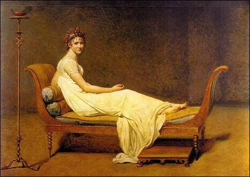 "Qui a peint ""Madame Récamier"" ?"