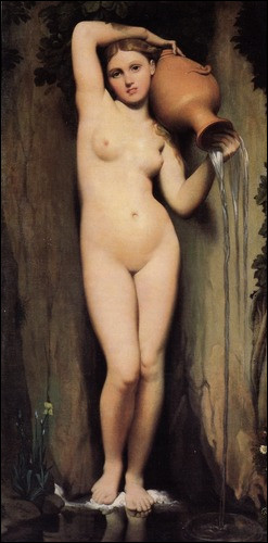 """Dans quel musée se trouve """"La source"""" de Jean-Auguste-Dominique Ingres ?"""