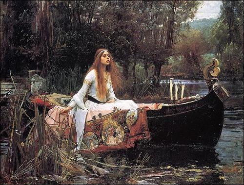 Qui a peint cette Lady of Shallot ?