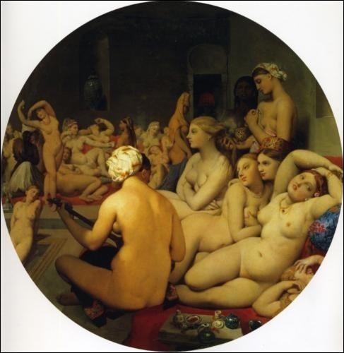 Quel est le titre de cette toile de Jean-Auguste-Dominique Ingres ?