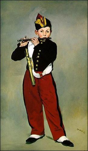 Quel est le titre de cette toile d'Édouard Manet ?