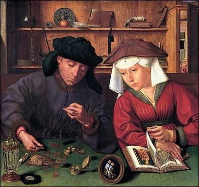 """Qui a peint """"Le Prêteur et sa femme"""" ?"""