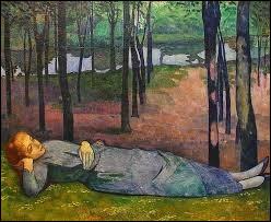 """Qui a peint """"Madeleine au bois d'amour"""" ?"""
