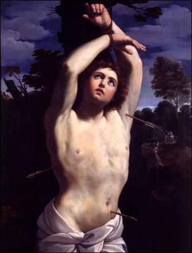 Qui est représenté sur cette toile de Guido Reni ?