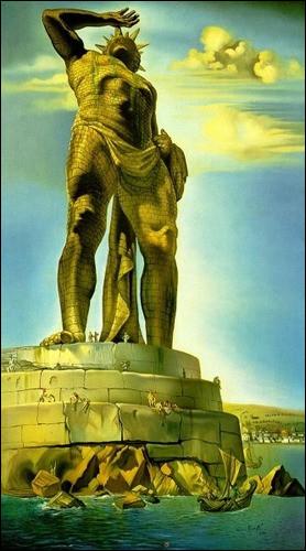 """Qui a peint ce """"Colosse de Rhodes"""" ?"""