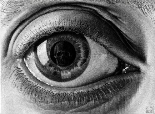 """Qu'est-ce qui est reflété dans la pupille de cet """"Œil"""" ?"""