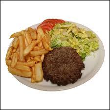Au restaurant, on vous sert un steak particulièrement petit. À la fin du repas, le serveur vous demande comment vous avez trouvé votre steak. Que lui répondez-vous ?