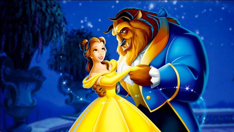 Quelle princesse devint la femme d'un prince transformé en bête ?