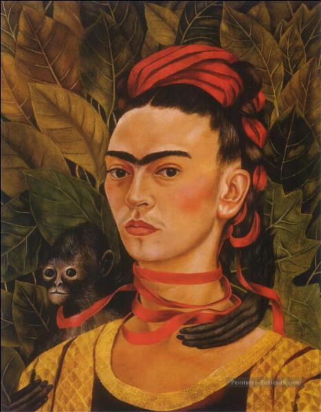 L'artiste peintre mexicaine, qui s'est représentée en autoportrait, c'est ... Kahlo.